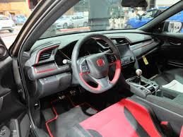 interior look 2018 civic type r prototype 2016 honda civic