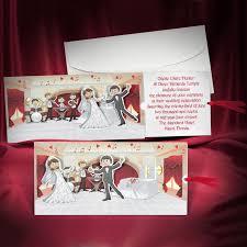 cool wedding invitations 50 pcs lot creative wedding invitation card customized and