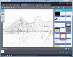 safe and easy way to turn photo into sketches