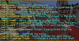 how to refuse an invitation party system hypixel wiki fandom powered by wikia
