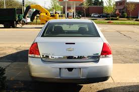 2010 chevrolet impala lt silver used sedan
