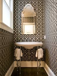 creative wallpaper ideas for bathroom with additional home design