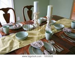 How To Set A Dining Room Table Dining Room Table Place Settings Dining Room Table Setting Stock