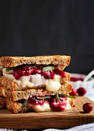 what really happened on thanksgiving turkey brie and cranberry mustard panini just a little bit of bacon