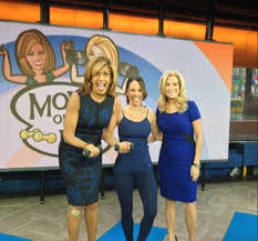 Today Show by Pure Barre On The Today Show Carrie Shows Kathie Lee U0026 Hoda How