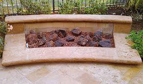 Firepit Rock Pit Glass Installation Pit Glass Rocks