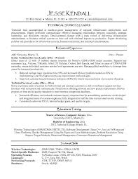 Technical Proficiencies Resume Examples by Leadership Resume Examples 20 Best It Resume Samples Images On