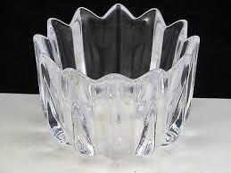 Orrefors Vase Orrefors Signed Crystal Vase Art Glass Jan Johansson Vintage