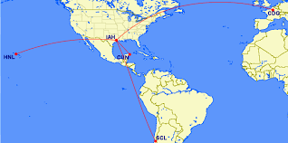 Korean Air Route Map by Guide To Korean Air Skypass Award Miles Upon Arriving