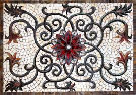Artist Gallery Pictures Of Glass Tile Mosaic Backsplash Floral - Tile mosaic backsplash