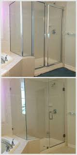 how to clean bathroom glass shower doors 75 best frameless shower doors images on pinterest frameless