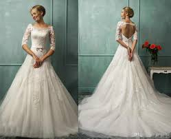 a line lace wedding dress new wedding ideas trends