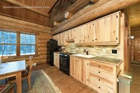 cuisine chalet bois chalet à louer laurentides morin heights chalet bois rond