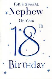 special nephew 18th birthday birthday card amazon co uk kitchen