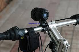 cree xpg r5 bike light with battery pack 24x7 diy