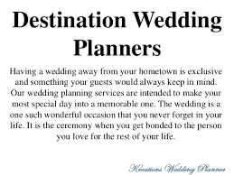 destination wedding planners welcome to kreations wedding planner