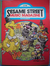 sesame street thanksgiving big bird sesame street music magazine vol 1 no 2 muppet wiki fandom