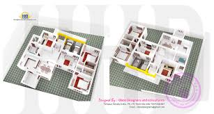 elevation floor plan and isometric plan by oikos designers