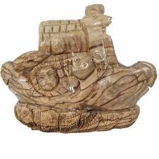 bethlehem olive wood wooden carved noah s ark made from bethlehem olive wood 3 5 x