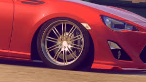 Slammed Subaru Brz On Iforged Wheels Youtube