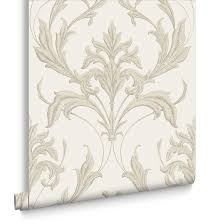 oxford pearl and taupe wallpaper grahambrownuk