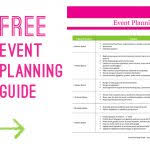 event planning business plan template boblab us