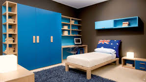 bedroom beauteous boys room ideas decor on design with blue bed