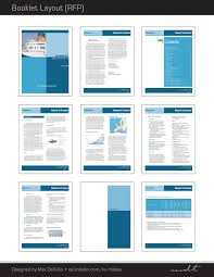 extracted pages of a request for proposal rfp booklet template