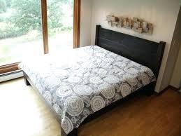 Wood Bed Platform Wood King Bed Frame Elkar Club