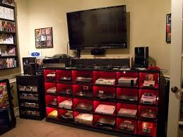 desks for gaming consoles amazing of gaming desk setup ideas best gamer setups and furniture