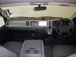 toyota hiace interior japanese used toyota hiace model 2007 for sale in karachi