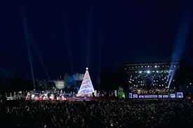 national tree lighting ceremony white house lighting the lighting ceremony for the national tree on