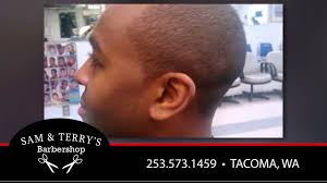 seattle barbers that do seahawk haircuts sam terry s barbershop barbers in tacoma youtube