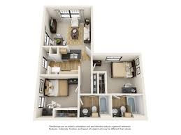 Two Bed Two Bath Apartment 2 Bed 2 Bath Apartment In Baton Rouge La Campus Crossings On