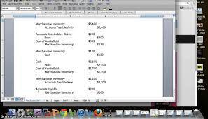 financial accounting chapter 4 problem 1a youtube