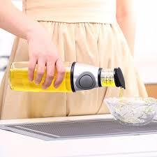 distributeur cuisine 500 ml cuisine en verre saucière olive huile vinaigre distributeur