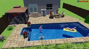 inground pool designs 15 x 30 inground pool design by rideau pools ottawa youtube
