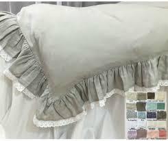 white ruffle bedding fadfay cute bunny bedding set white ruffle