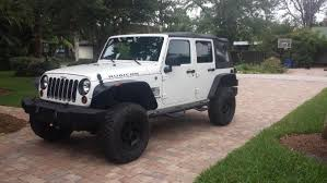 jeep wrangler unlimited flat fenders pic request of 33 with 2 lift and flat fenders jkowners com