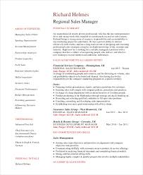 Territory Sales Manager Resume Sample by Sales Manager Resume Template 7 Free Word Pdf Documents