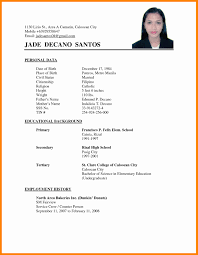 sle resume for part time job in jollibee logo resume exle jollibee therpgmovie