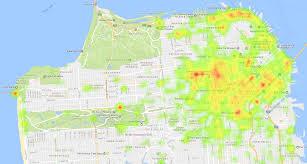 Sf Crime Map Exploring San Francisco U0027s Public Data U2013 Til With Bigquery