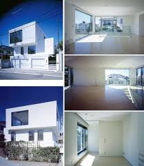 contemporary residential 3 story building modern minimalist home