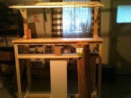 ytong wohnzimmer aquarium unterschrank selber bauen anleitung filterbecken erster