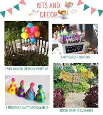 fairies love surprise birthday parties teelie u0027s fairy garden