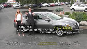 nissan altima gas mileage 2017 july 2017 nissan altima buy for 17 999 youtube