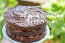 how to make whipped ganache tutorial youtube