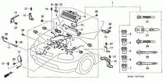 2000 honda civic engine diagram automotive parts diagram images