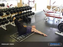 Bench Barbell Row Abdominal Pendulum Video Exercise Guide U0026 Tips