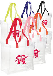 personalized tote bags bulk clear tote bags discountmugs